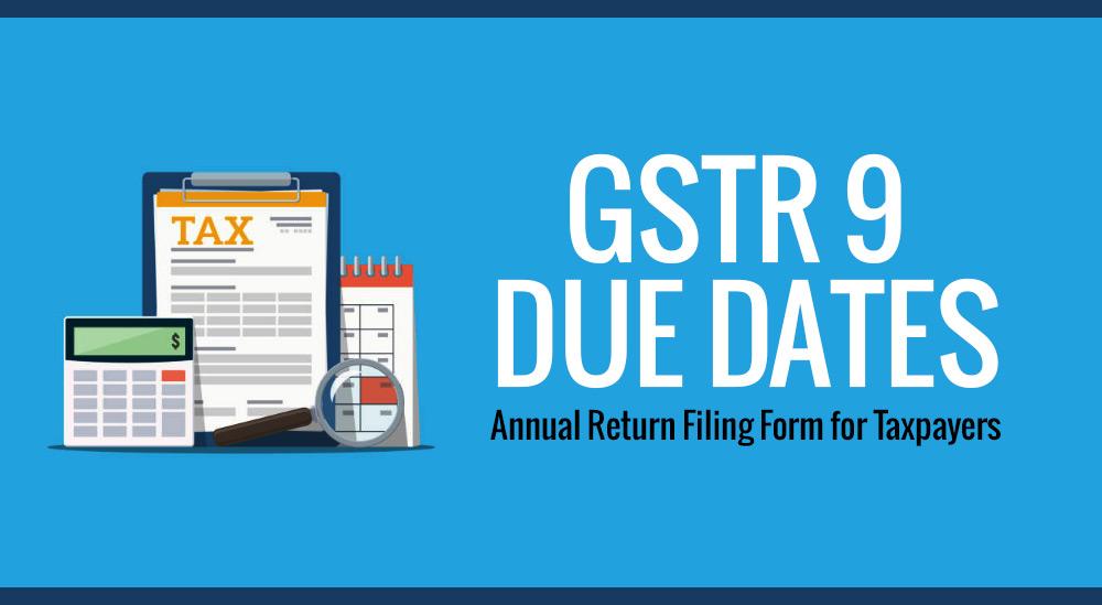 GSTR 9 form