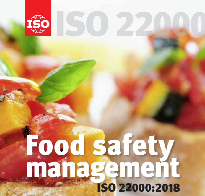 ISO 22000 2018 Certificate