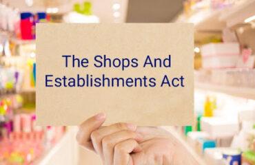 Shops Registration